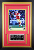 Colin Kaepernick Framed 8x10 San Francisco 49ers Photo with Nameplate (CK-P4C)