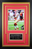 Colin Kaepernick Framed 8x10 San Francisco 49ers Photo with Nameplate (CK-P6C)