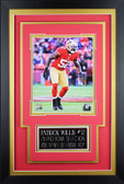 Patrick Willis Framed 8x10 San Francisco 49ers Photo with Nameplate (PW-P3C)