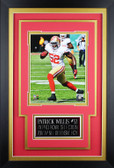 Patrick Willis Framed 8x10 San Francisco 49ers Photo with Nameplate (PW-P4C)