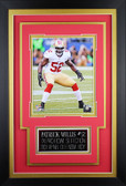 Patrick Willis Framed 8x10 San Francisco 49ers Photo with Nameplate (PW-P5C)