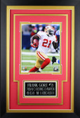 Frank Gore Framed 8x10 San Francisco 49ers Photo with Nameplate (FG-P1C)