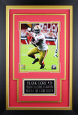 Frank Gore Framed 8x10 San Francisco 49ers Photo with Nameplate (FG-P3C)