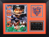 Gale Sayers Framed 8x10 Chicago Bears Photo (GS-P4B)