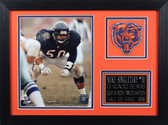 Mike Singletary Framed 8x10 Chicago Bears Photo (MSB-P2B)