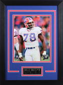 Bruce Smith Framed 8x10 Buffalo Bills Photo (BS-P1D)