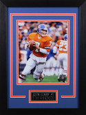 John Elway Framed 8x10 Denver Broncos Photo (JE-P1D)