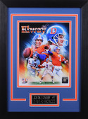 John Elway Framed 8x10 Denver Broncos Photo (JE-P2D)