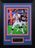 John Elway Framed 8x10 Denver Broncos Photo (JE-P7D)