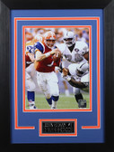 John Elway Framed 8x10 Denver Broncos Photo (JE-P9D)
