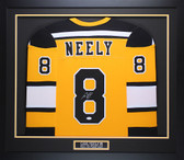 Cam Neely Autographed & Framed Yellow Boston Bruins Jersey JSA COA D3-M