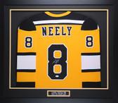 Cam Neely Autographed & Framed Yellow Boston Bruins Jersey JSA COA D3-M