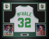 Kevin McHale Autographed & Framed White Celtics Jersey Auto JSA COA D3-L