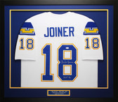 Charlie Joiner Autographed & Framed White San Diego Chargers Jersey JSA COA D2-M