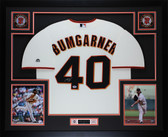 Madison Bumgarner Autographed & Framed Cream Giants Jersey Auto PSA COA D1-L