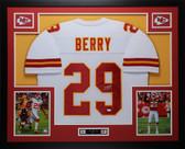 Eric Berry Autographed & Framed White Chiefs JSA COA D1-L