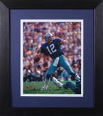 Roger Staubach Framed 8x10 Dallas Cowboys Photo (RS-P2E)