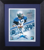 Roger Staubach Framed 8x10 Dallas Cowboys Photo (RS-P3E)