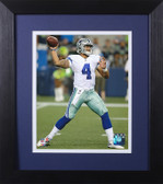 Dak Prescott Framed 8x10 Dallas Cowboys Photo (DP-P3E)