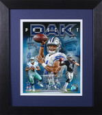 Dak Prescott Framed 8x10 Dallas Cowboys Photo (DP-P5E)