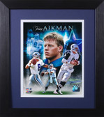 Troy Aikman Framed 8x10 Dallas Cowboys Photo (TA-P1E)