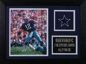 Roger Staubach Framed 8x10 Dallas Cowboys Photo (RS-P2A)