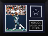 Roger Staubach Framed 8x10 Dallas Cowboys Photo (RS-P4A)