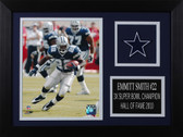 Emmitt Smith Framed 8x10 Dallas Cowboys Photo (ES-P1A)