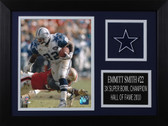 Emmitt Smith Framed 8x10 Dallas Cowboys Photo (ES-P3A)