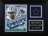 Emmitt Smith Framed 8x10 Dallas Cowboys Photo (ES-P4A)
