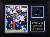 Dez Bryant Framed 8x10 Dallas Cowboys Photo (DBC-P3A)