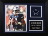 Dak Prescott Framed 8x10 Dallas Cowboys Photo (DP-P1A)
