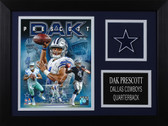 Dak Prescott Framed 8x10 Dallas Cowboys Photo (DP-P5A)