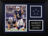 Dak Prescott Framed 8x10 Dallas Cowboys Photo (DP-P8A)