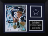 Troy Aikman Framed 8x10 Dallas Cowboys Photo (TA-P2A)
