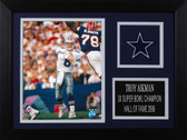 Troy Aikman Framed 8x10 Dallas Cowboys Photo (TA-P6A)