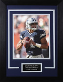 Dak Prescott Framed 8x10 Dallas Cowboys Photo (DP-P1C)