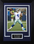 Dak Prescott Framed 8x10 Dallas Cowboys Photo (DP-P3C)