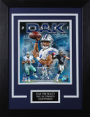 Dak Prescott Framed 8x10 Dallas Cowboys Photo (DP-P5C)