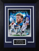 Troy Aikman Framed 8x10 Dallas Cowboys Photo (TA-P1C)