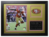 Frank Gore Framed 8x10 San Francisco 49ers Photo (FG-P2B)