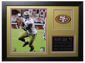 Frank Gore Framed 8x10 San Francisco 49ers Photo (FG-P3B)
