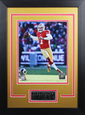 Colin Kaepernick Framed 8x10 San Francisco 49ers Photo with Nameplate (CK-P4D)