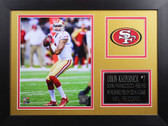 Colin Kaepernick Framed 8x10 San Francisco 49ers Photo (CK-P6B)
