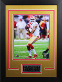 Colin Kaepernick Framed 8x10 San Francisco 49ers Photo with Nameplate (CK-P6D)