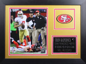 Colin Kaepernick Framed 8x10 San Francisco 49ers Photo (CK-P7B)