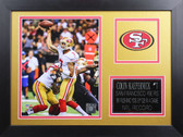 Colin Kaepernick Framed 8x10 San Francisco 49ers Photo (CK-P8B)