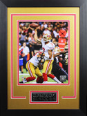 Colin Kaepernick Framed 8x10 San Francisco 49ers Photo with Nameplate (CK-P8D)
