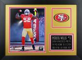 Patrick Willis Framed 8x10 San Francisco 49ers Photo (PW-P1B)