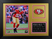 Patrick Willis Framed 8x10 San Francisco 49ers Photo (PW-P3B)